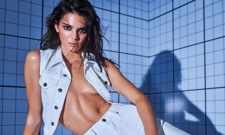 "Kendall Jenner Calvin Klein ""DEAL WITH IT"" Campaign"