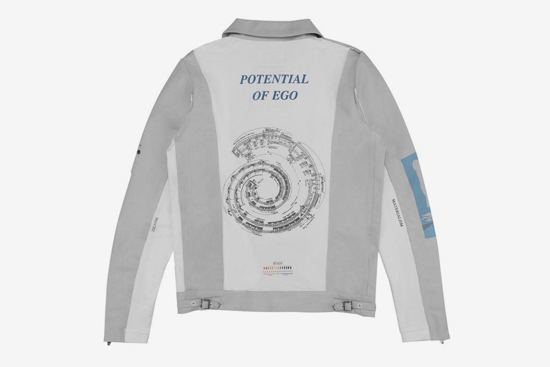 Number (N)ine Musician Leather Jacket