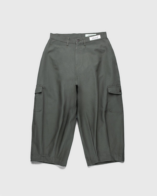 Darryl Brown — Japanese Cargo Pants Military Olive - Image 1