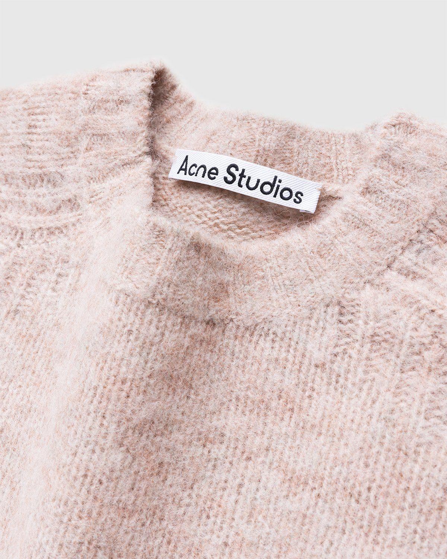 Acne Studios – Knit Sweater Pastel Pink - Image 4