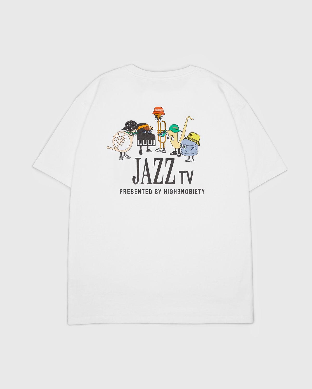 Highsnobiety — Jazz Ensemble T-Shirt White - Image 1