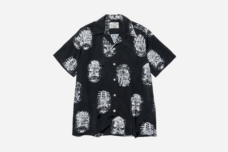 Neck Face Hawaiian Shirt