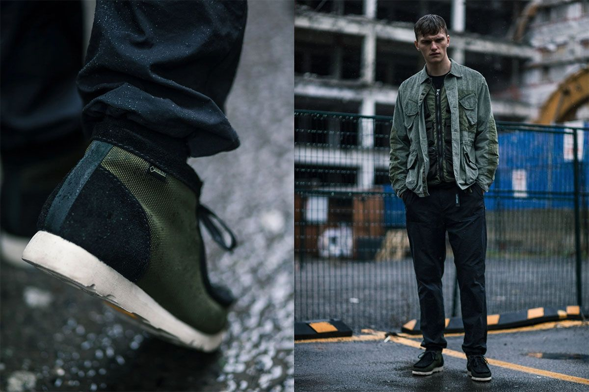 HAVEN Collabs With Clarks on Waterproof GORE-TEX Wallabees