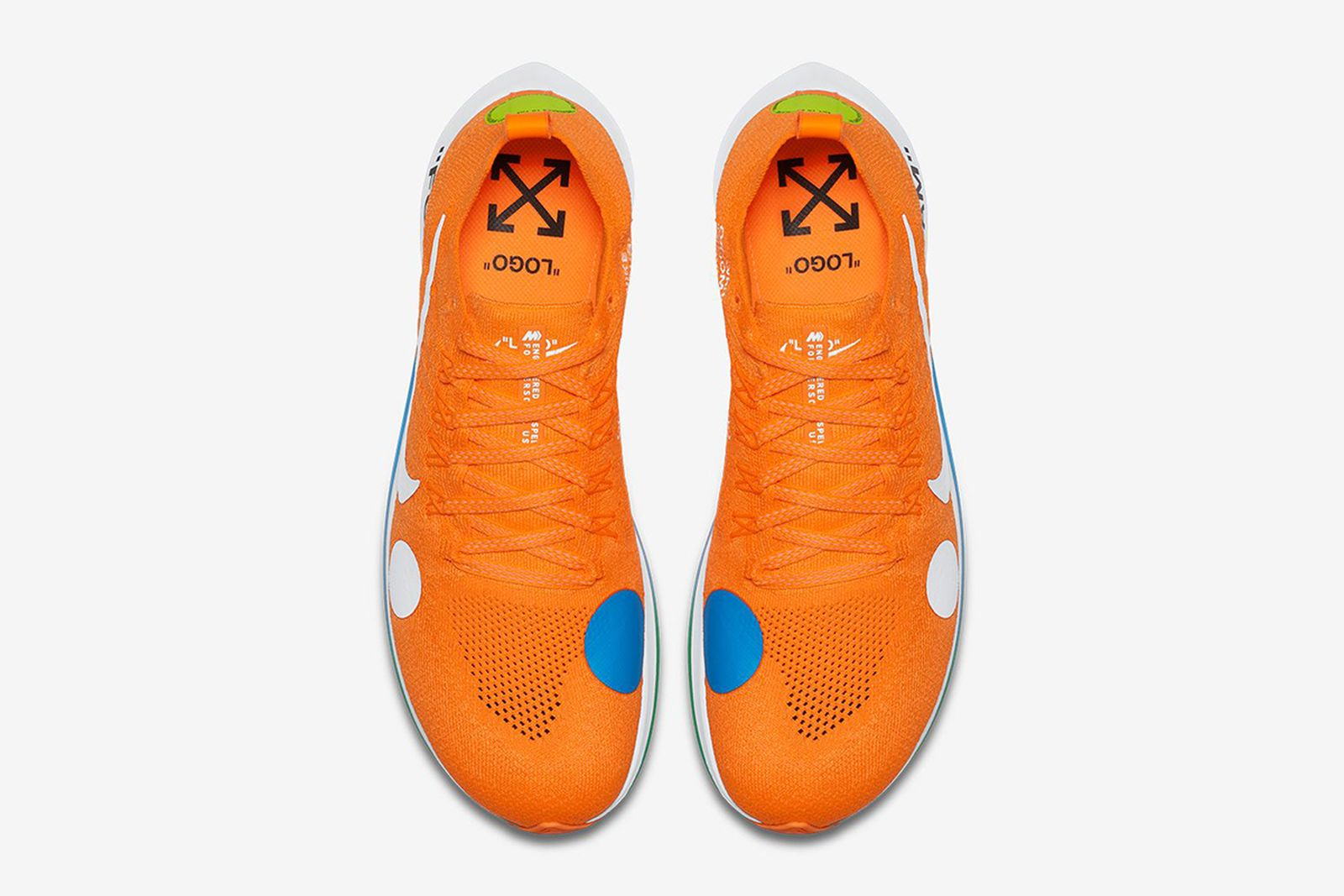 Zoom Fly Mercurial (orange)2 2018 FIFA World Cup Nike OFF-WHITE c/o Virgil Abloh