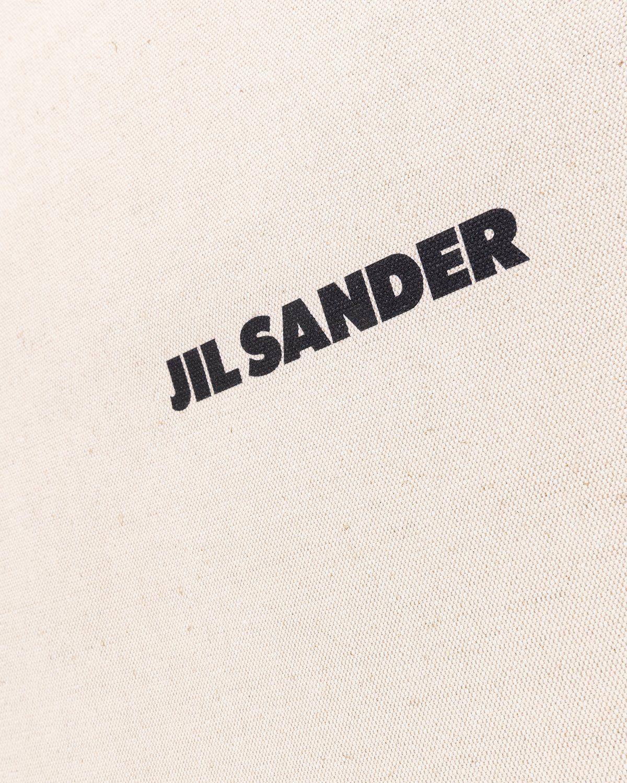 Jil Sander – Large Flat Shopper Natural - Image 4