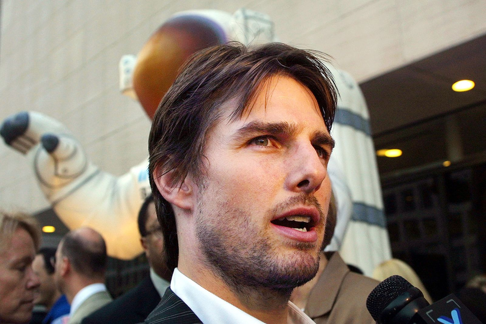 Tom Cruise at Space Museum