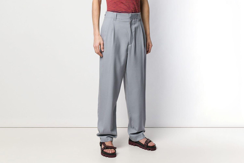 Loose High Waist Trousers