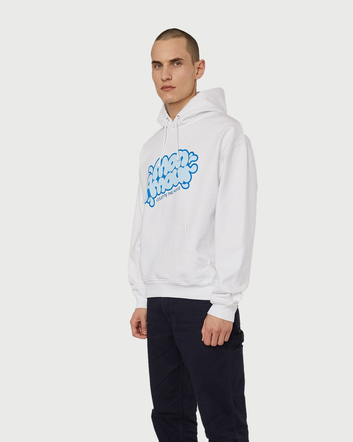 colette Mon Amour - Water Bar Hoodie White - Image 3