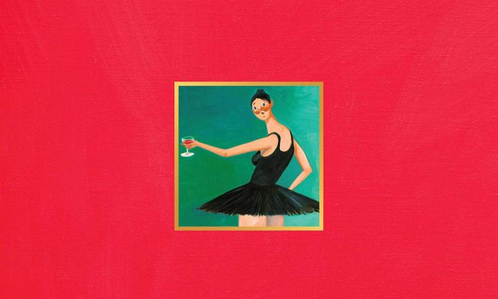 y Beautiful Dark Twisted Fantasy album cover