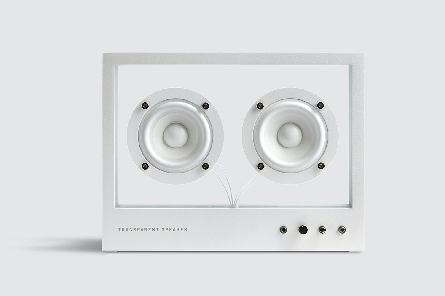 Small Transparent Speaker