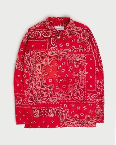 Miyagihidetaka Bandana Shirt Red