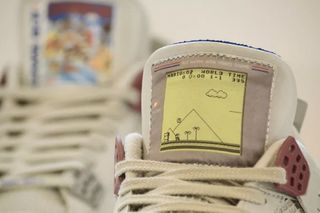 free shipping 40e31 ab32a Check Out These Nike Air Jordan 4 Game Boy-Themed Customs