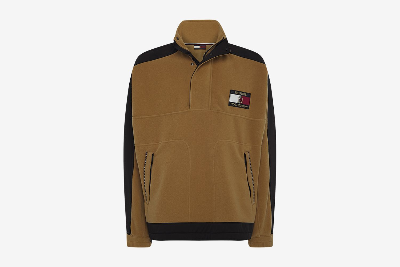 Crest Polar Fleece Sweatshirt