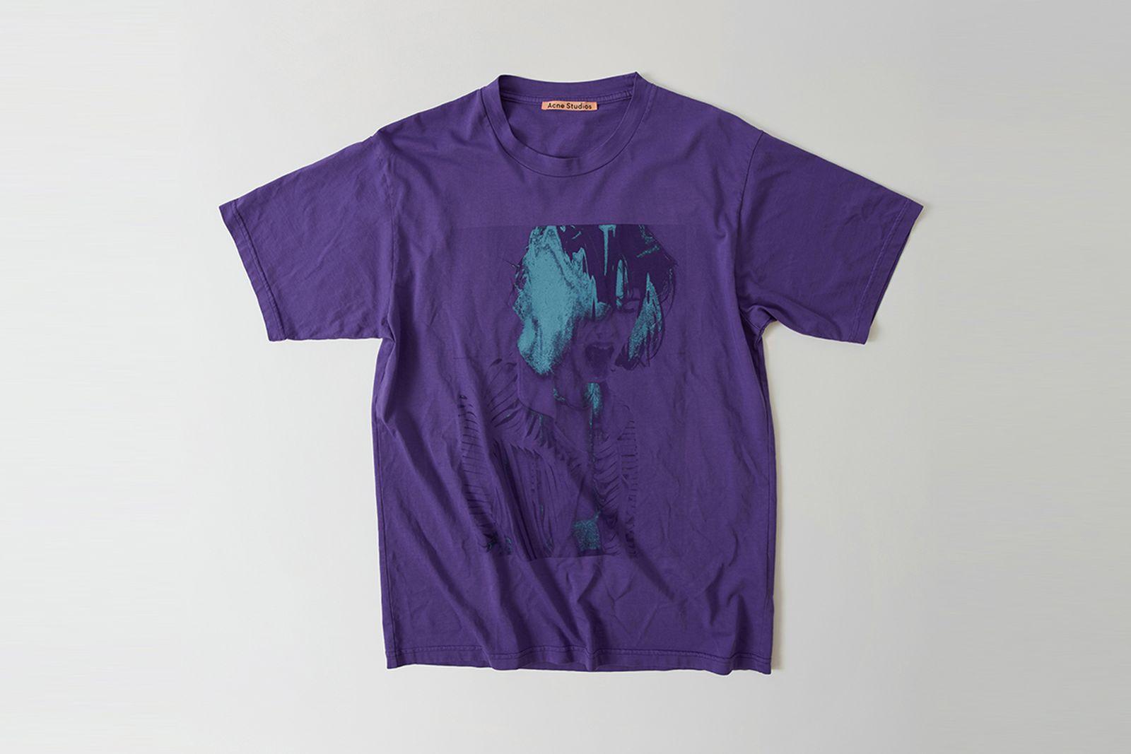 ss ux tshi000002 grape purple Acne Studios SS18