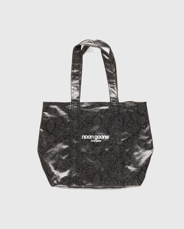 Noon Goons — Mojave Snakeskin Bag Black - Image 1