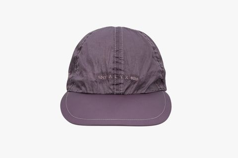 Nylon Buckle Logo Cap