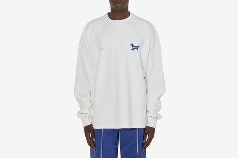 Fox Mustache Crewneck Sweatshirt
