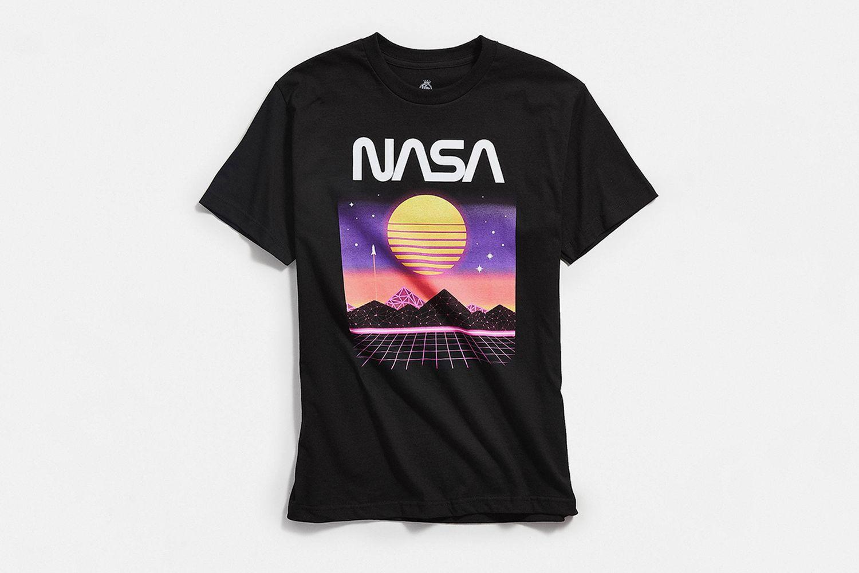 NASA Electro Landscape Tee