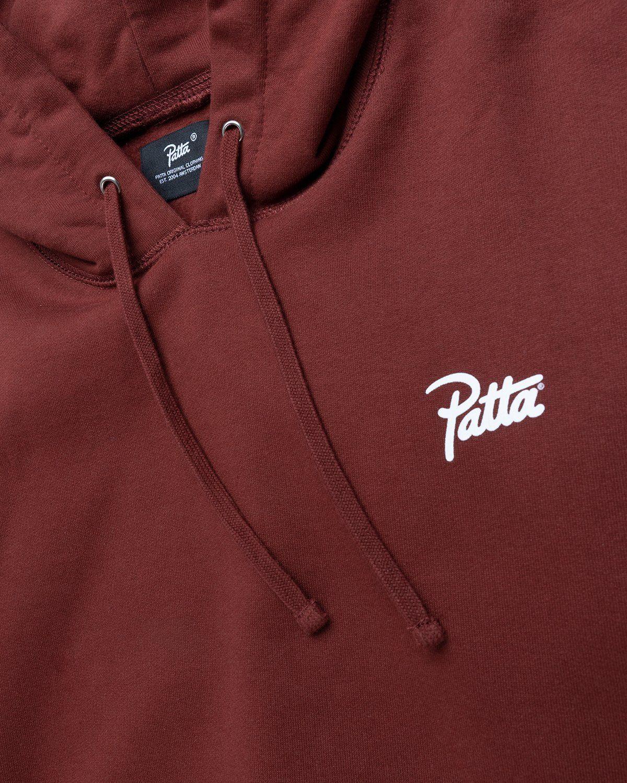 PATTA – Basic Hooded Sweater Brown - Image 3