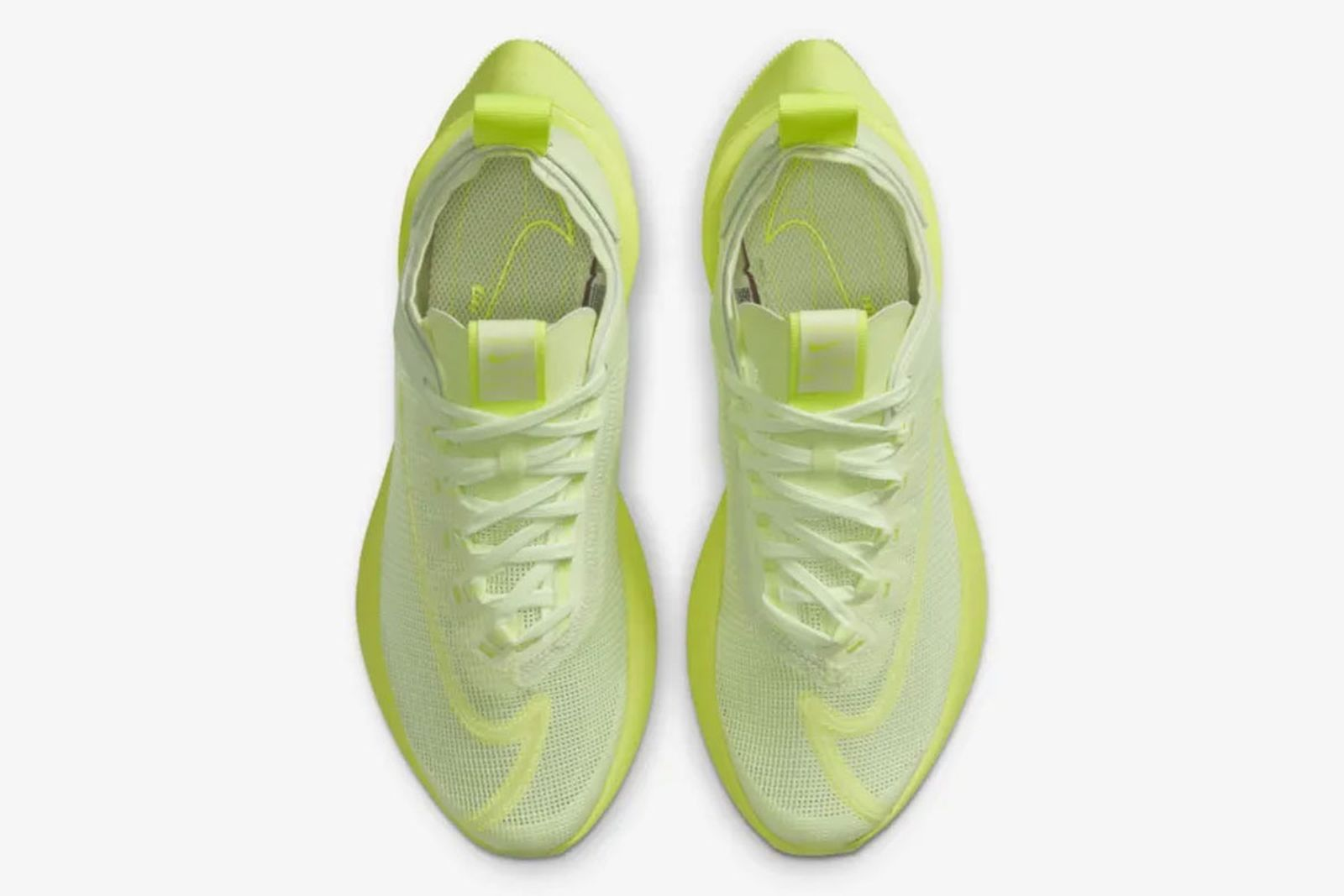 Nike Zoom Double Stacked Barely Volt Product Shot