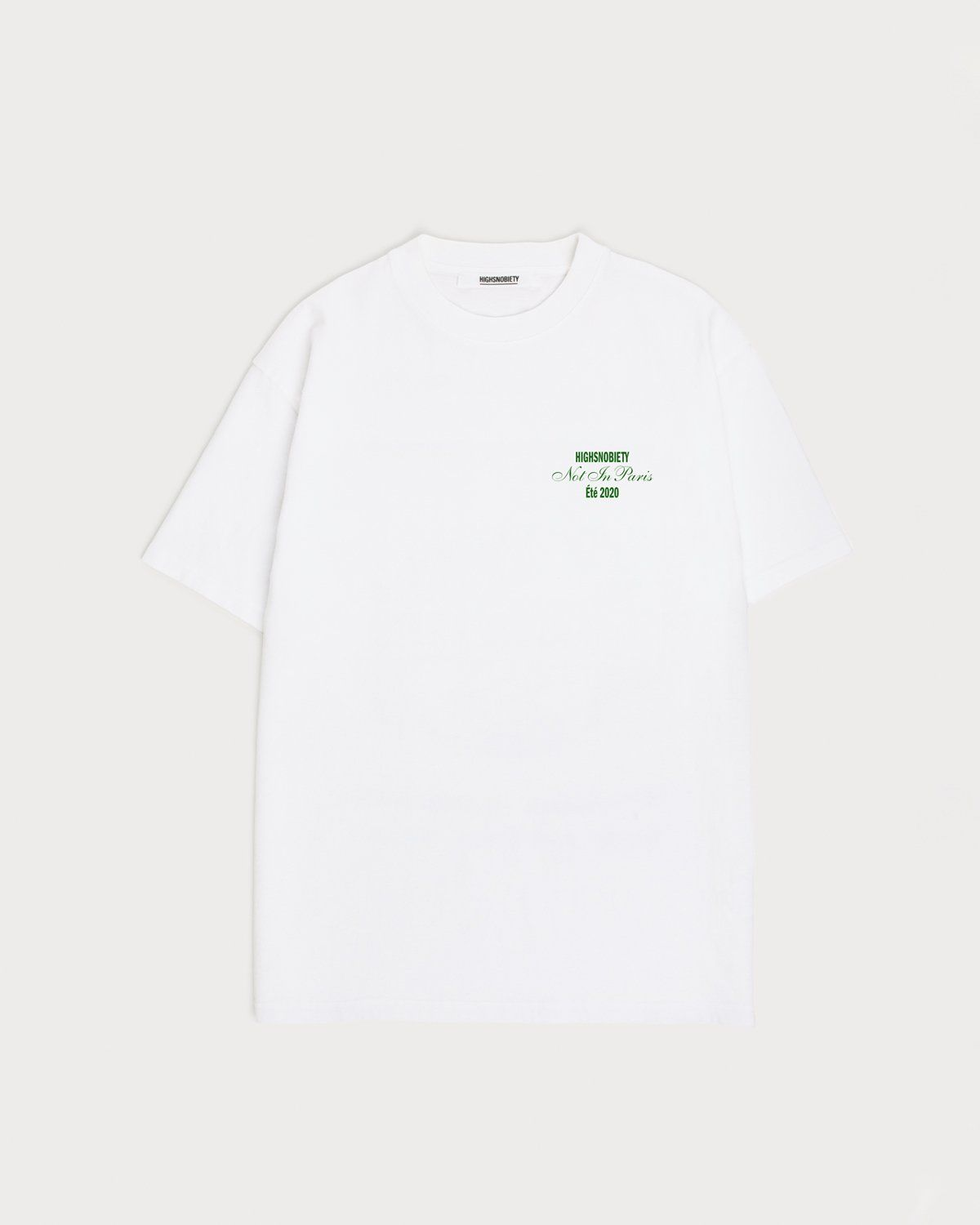 Not In Paris Presented By Highsnobiety - T-Shirt White - Image 1