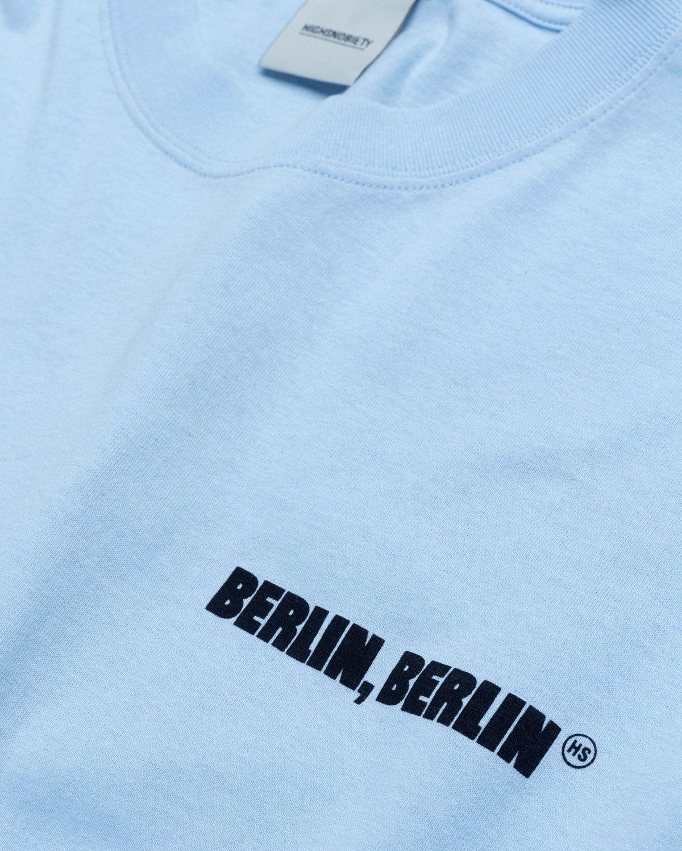 Highsnobiety x Berlin Berlin 2 – T-Shirt Blue - Image 3
