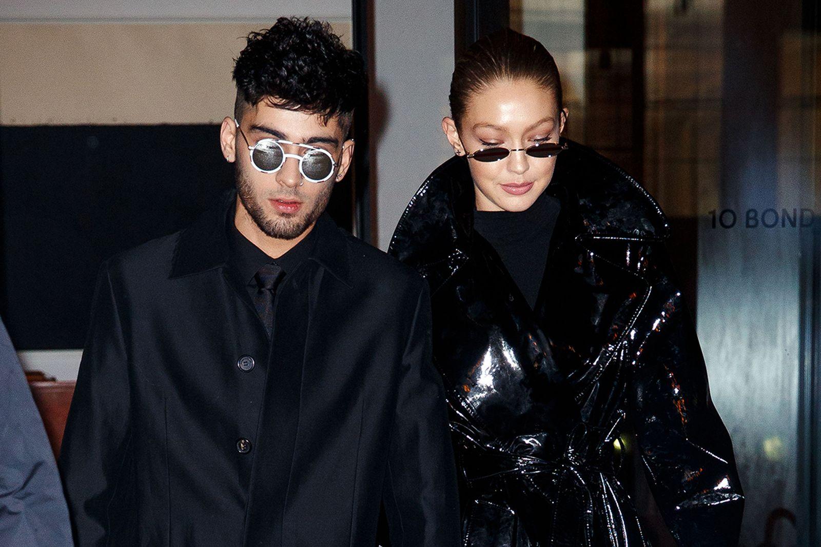 Zayn Malik and Gigi Hadid in New York