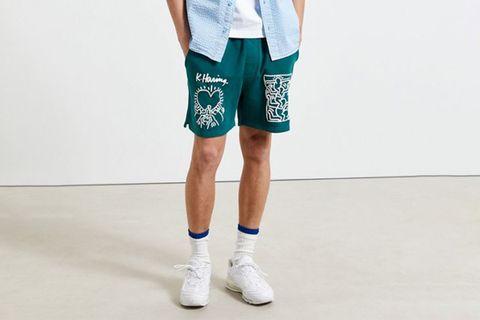 Keith Haring Sweat Shorts