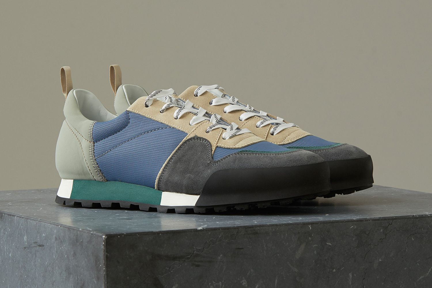 Material Mix Sneakers