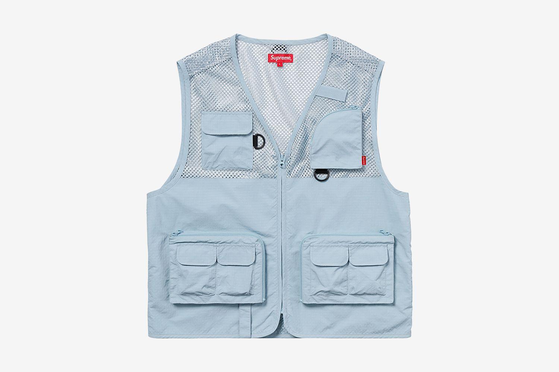 Mesh Cargo Vest
