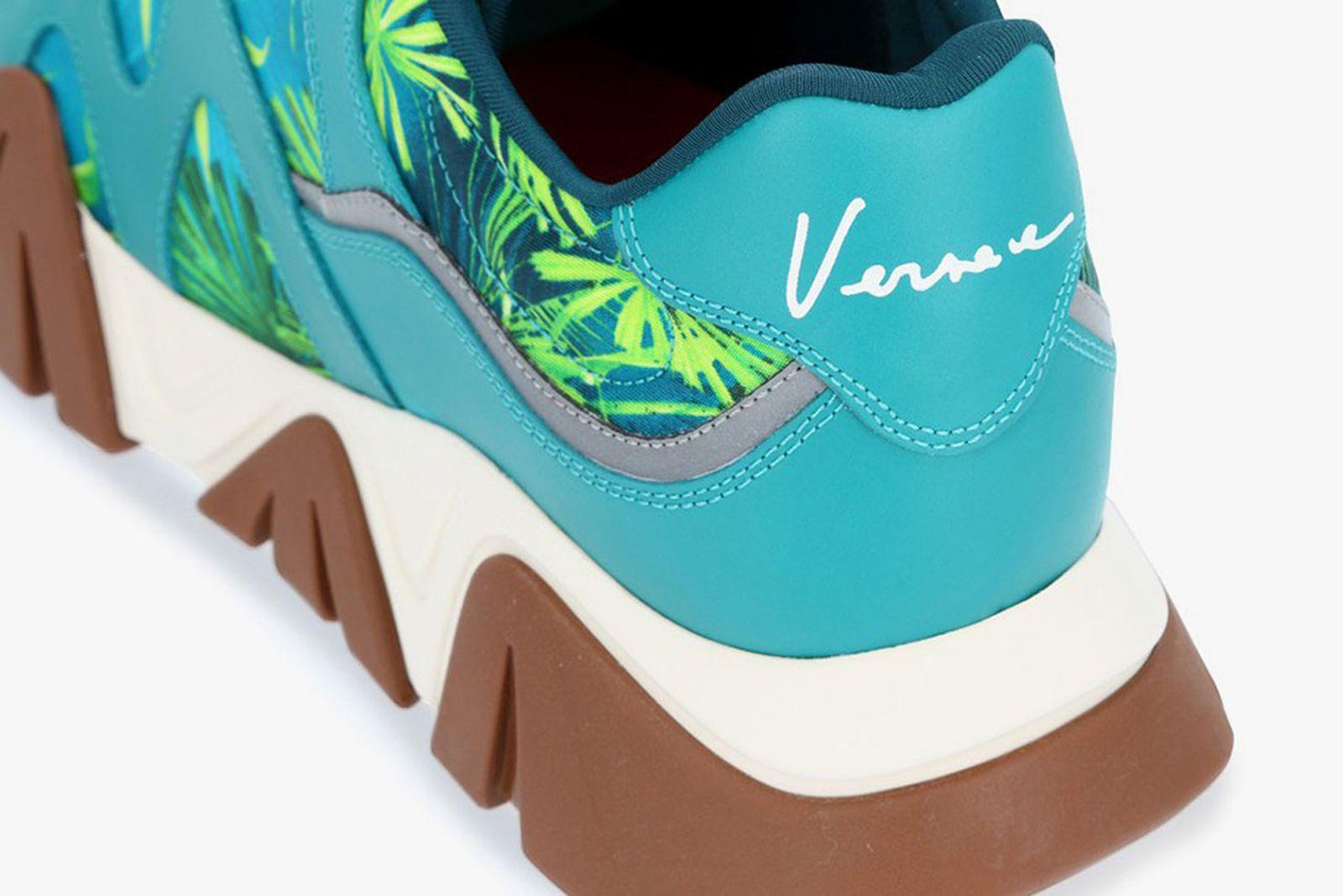 Versace Squalo Jungle Print Sneaker
