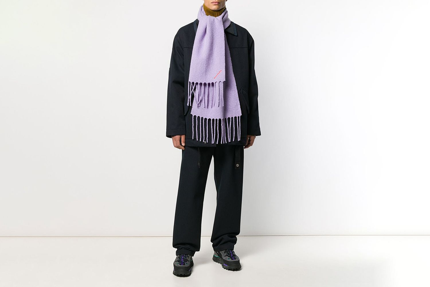 Boiled Knitted Scarf