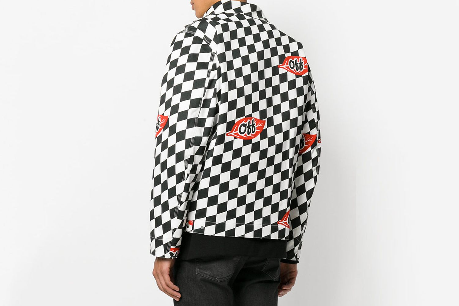 Fitted Checker Jacket