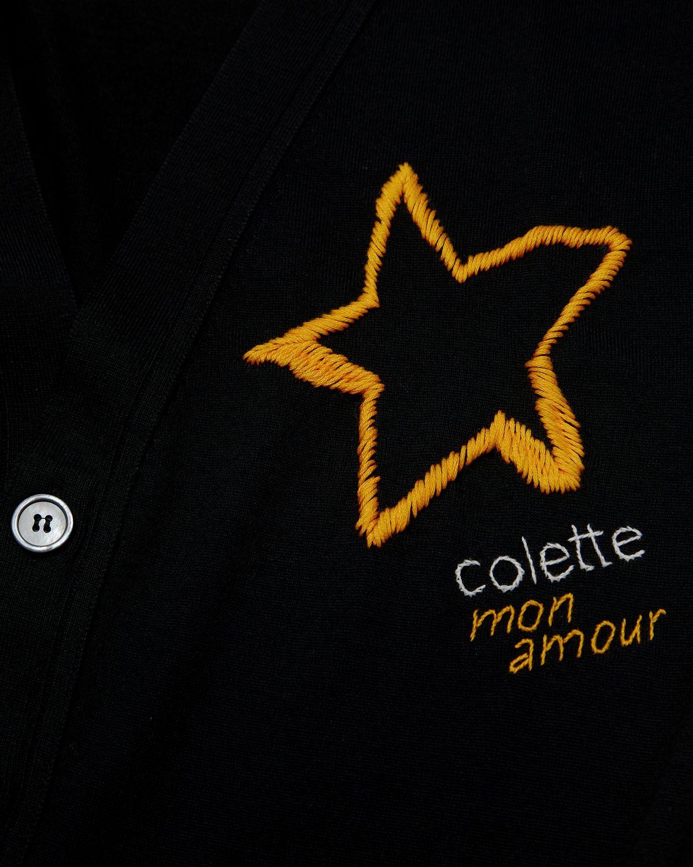 Colette Mon Amour x Thom Browne - Black Star Cardigan - Image 4