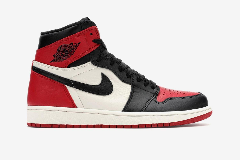 Air Jordan 1 Retro High Bred Toe