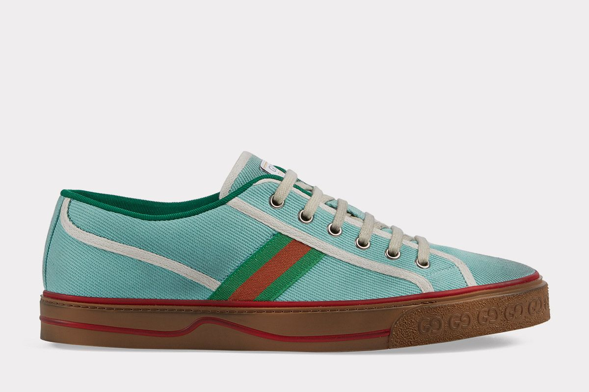 Gucci's Newest Sneaker Is Releasing in Miami for Art Basel 7