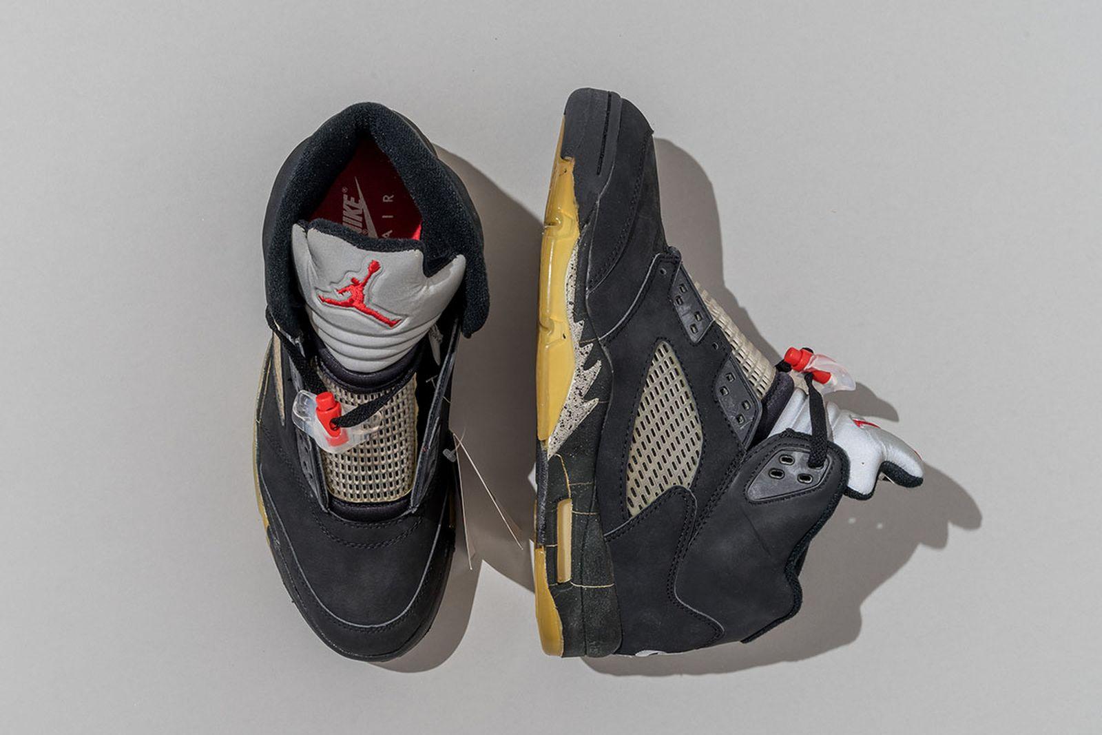 2000 Air Jordan 5 Black/BLK-Metallic Silver