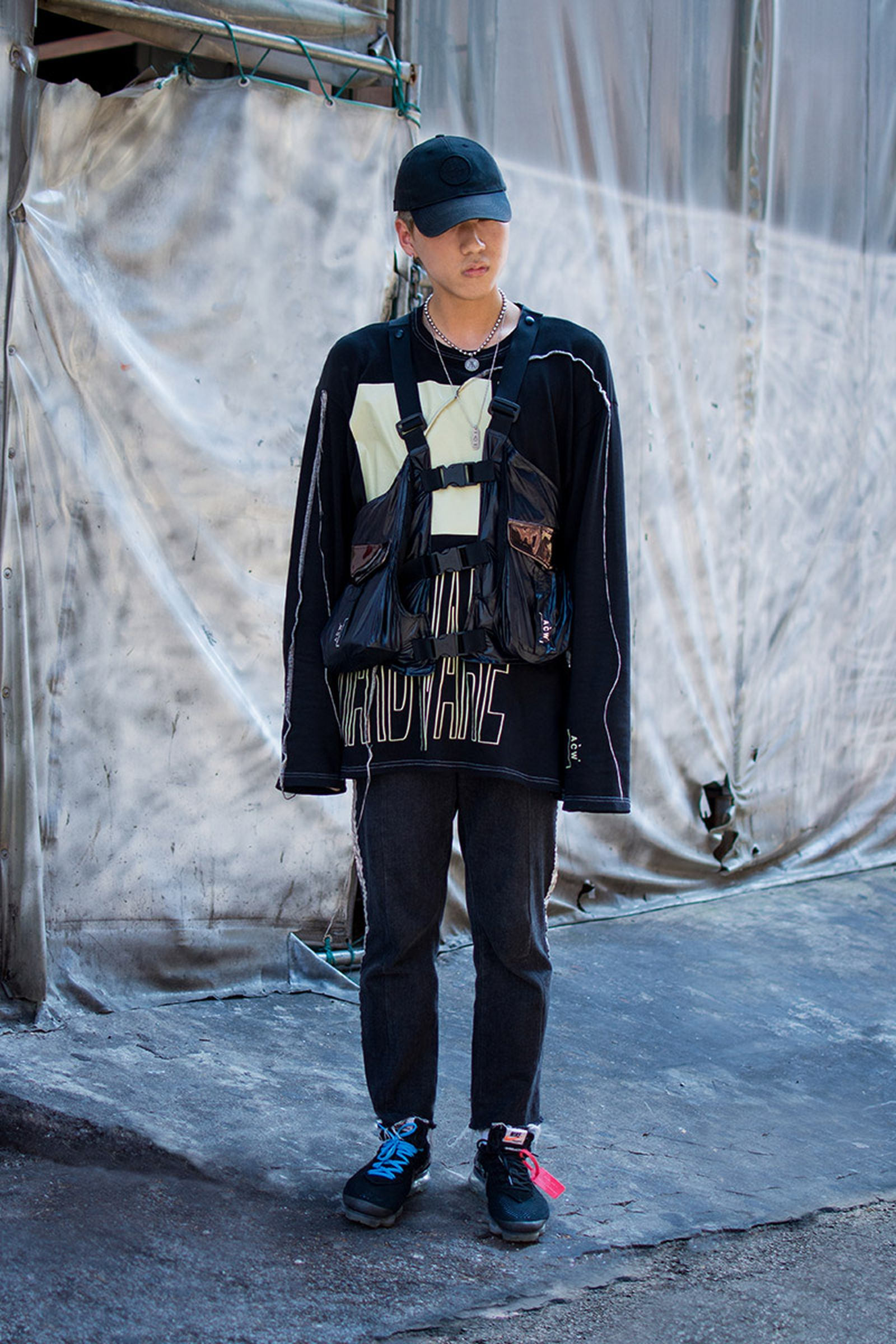 seoul street style july8 Balenciaga Children of the Discordance Gucci