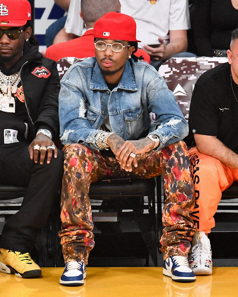 Seven Times Fire Sneakers Showed Up Courtside at the NBA 24