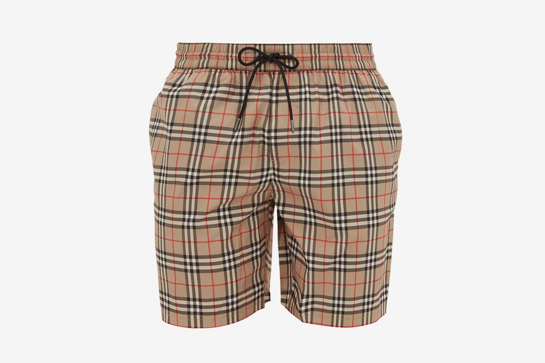 Guildes House-Check Swim Shorts