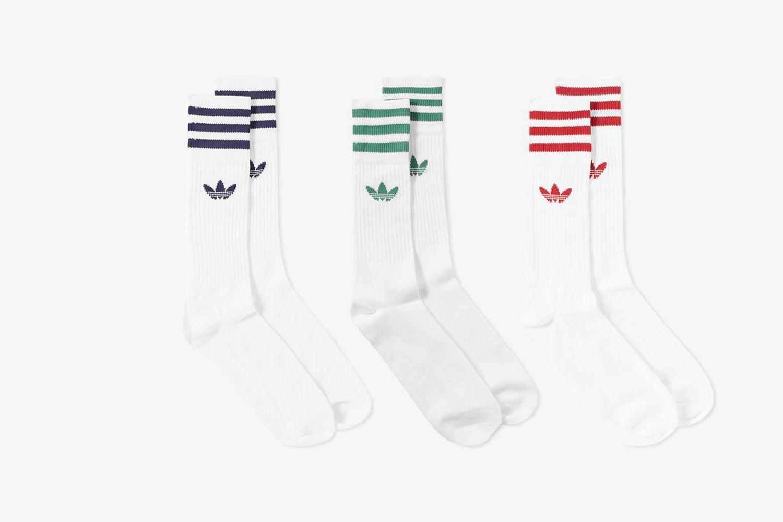 Marl Crew Sock