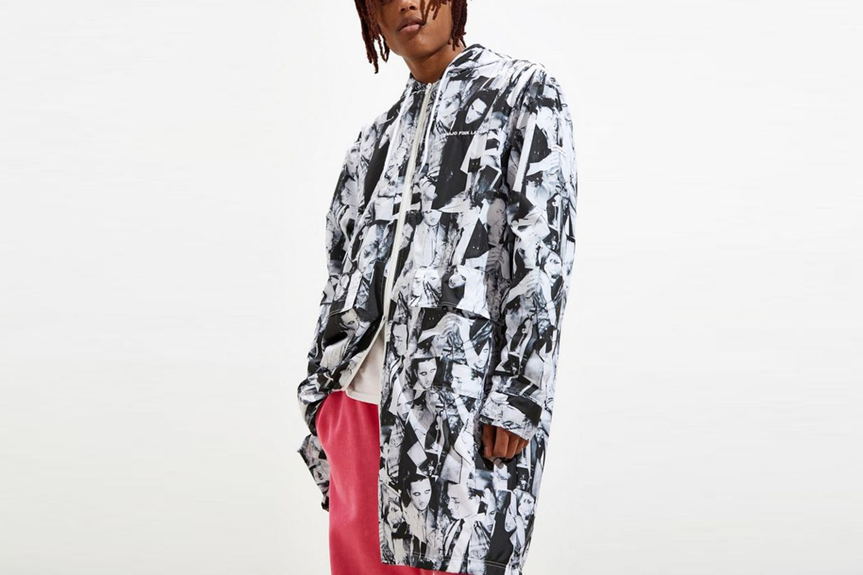 Photo Collage Windbreaker Jacket