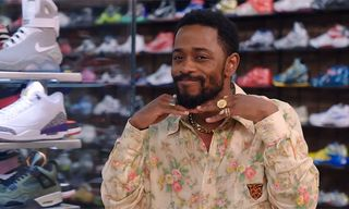 Watch 'Atlanta' Star Lakeith Stanfield Go 'Sneaker Shopping' Barefoot