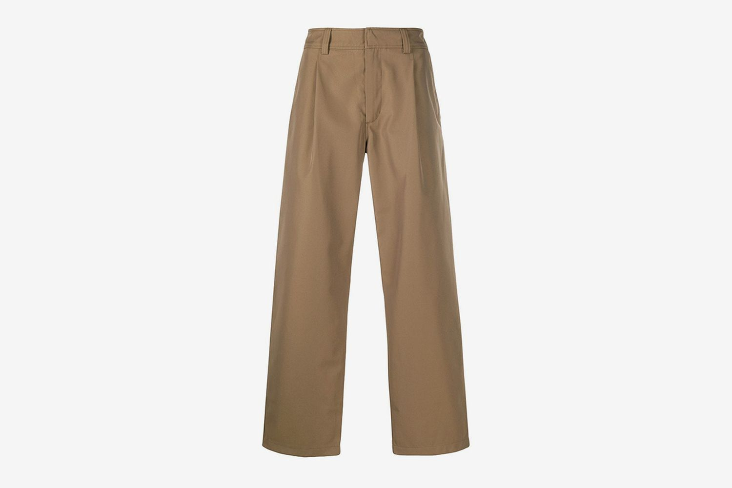 Wide Straight-Leg Trousers