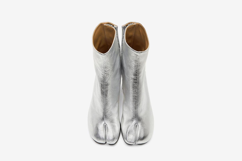 Metallic Tabi Boots
