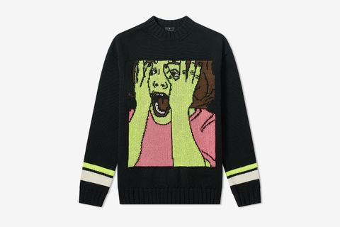 Scared Face Knit