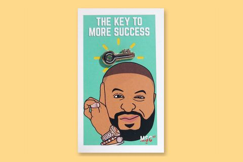 DJ Khaled 'Key' Pin