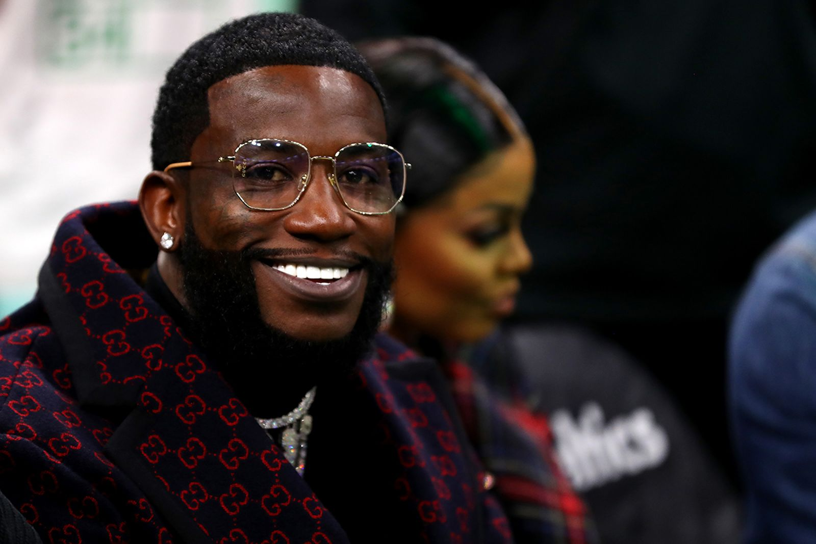 Gucci Mane glasses Gucci coat