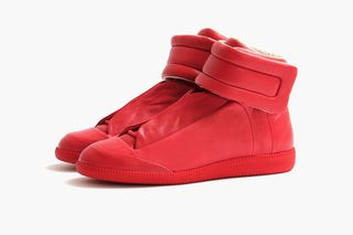 5af6149f02f9 Maison Martin Margiela Red High Top Future | Highsnobiety