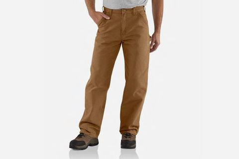 Washed Duck Work Pants
